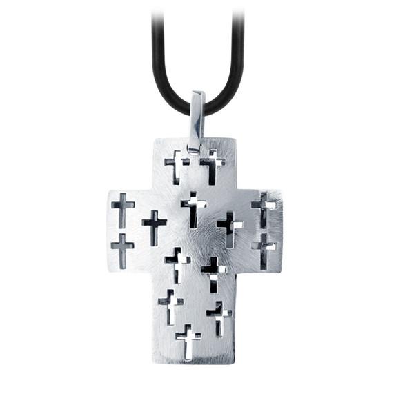 Holiday jewellery, Fire steel, men's stainless steel pendants