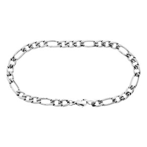 Fire Steel, Men's Stainless Steel Bracelets, Small Links