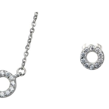 Fire Steel, Stainless Steel Jewellery Sets, CZ Bridal Jewellery