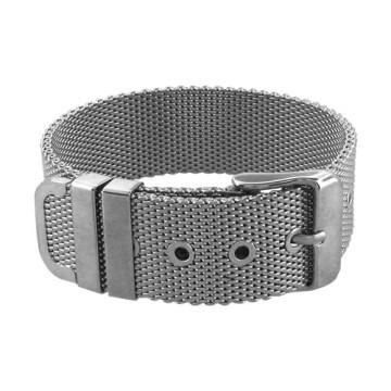 Buckle Up with Stainless Steel Belt Bracelets, by Fire Steel
