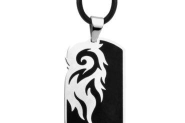 Fire Steel, men's stainless steel pendants are on fire