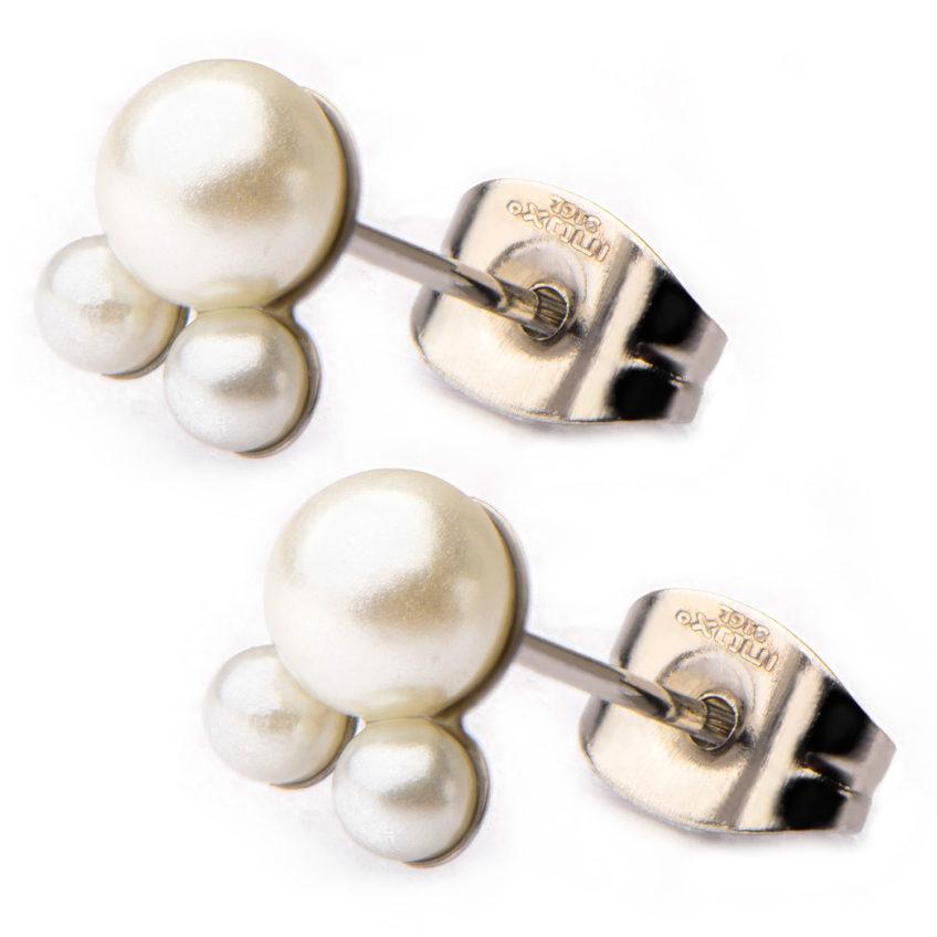 Wedding planning with Fire Steel, hypoallergenic earrings