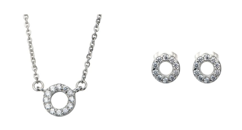 Fire Steel, Stainless Steel Jewellery Sets, CZ Bridal Jewellery